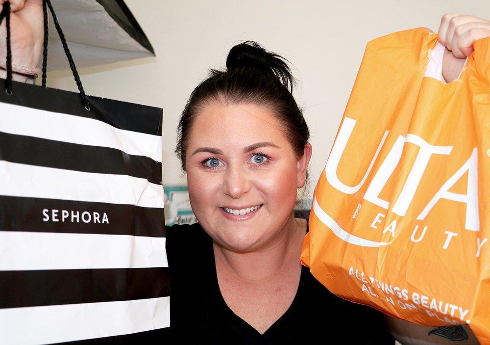 USA Sephora and Ulta Makeup Haul Marisa Robinson Beauty