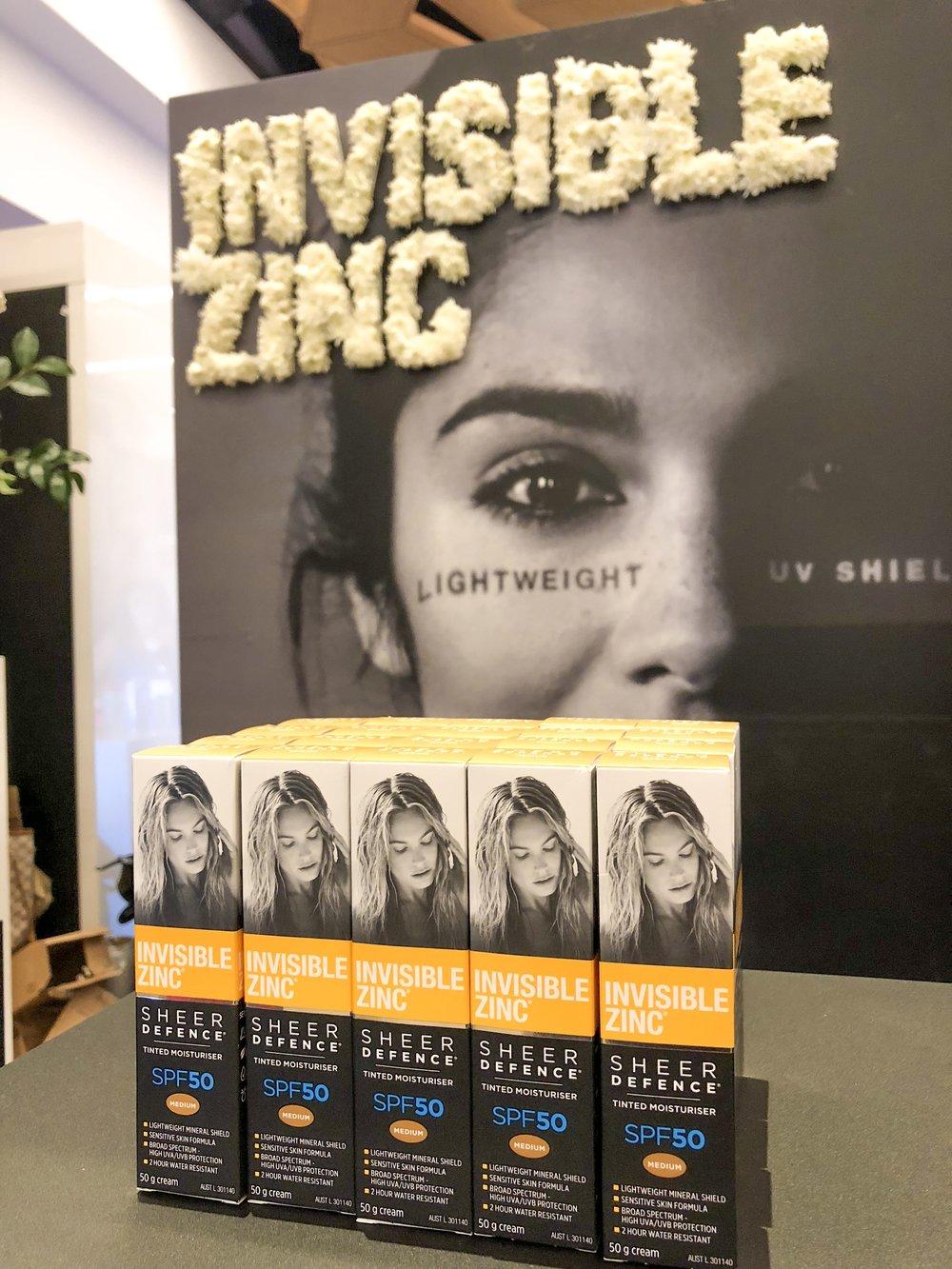 Invisible Zinc