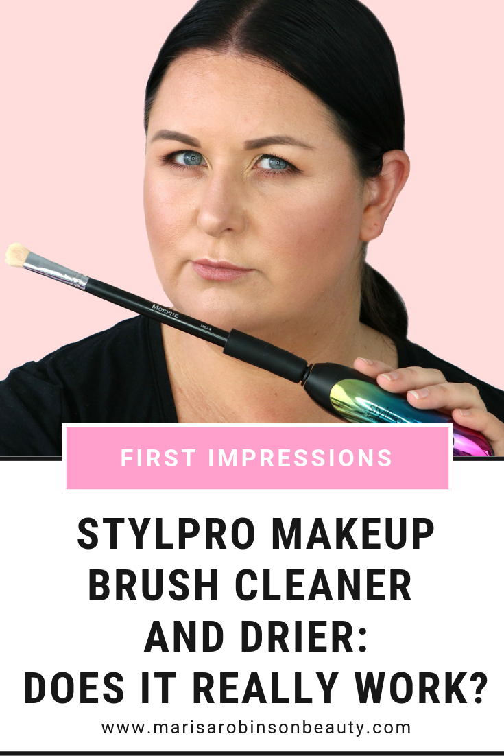 Does the StylPro Makeup Brush Cleaner really work?