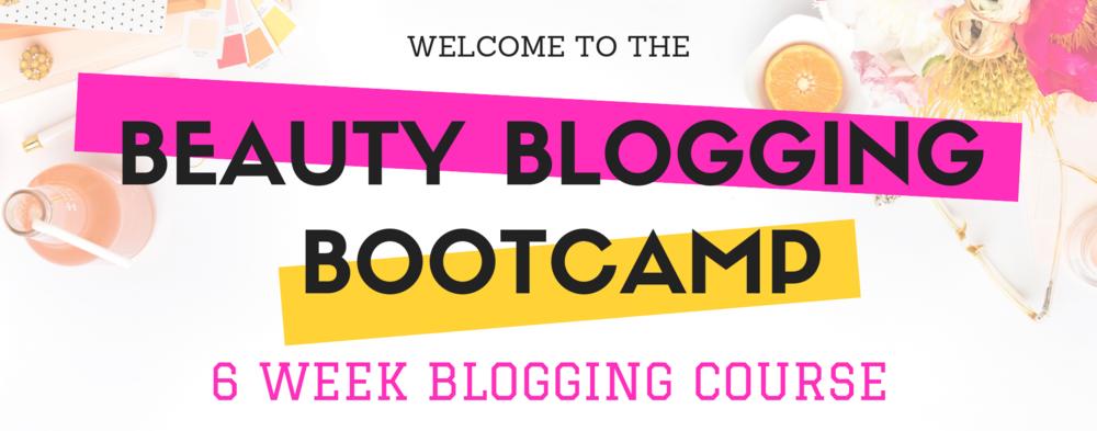 6 Week Blogging Course