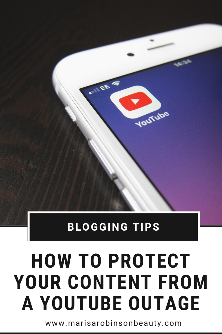 YouTube Outage - How You Can Protect Your Content In Future