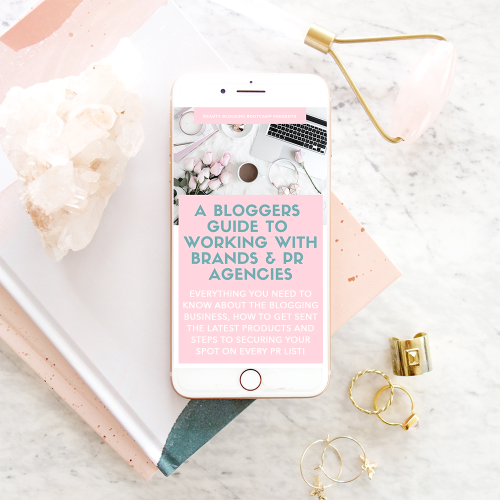 A Bloggers Guide To Working With Brands and PR Agencies Marisa Robinson Beauty