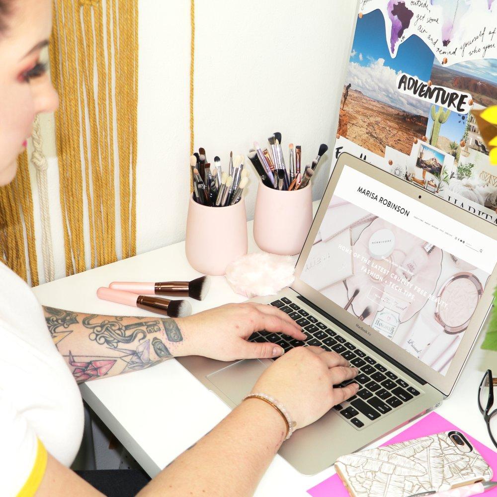 Beauty Blogging Challenge - Marisa Robinson Beauty