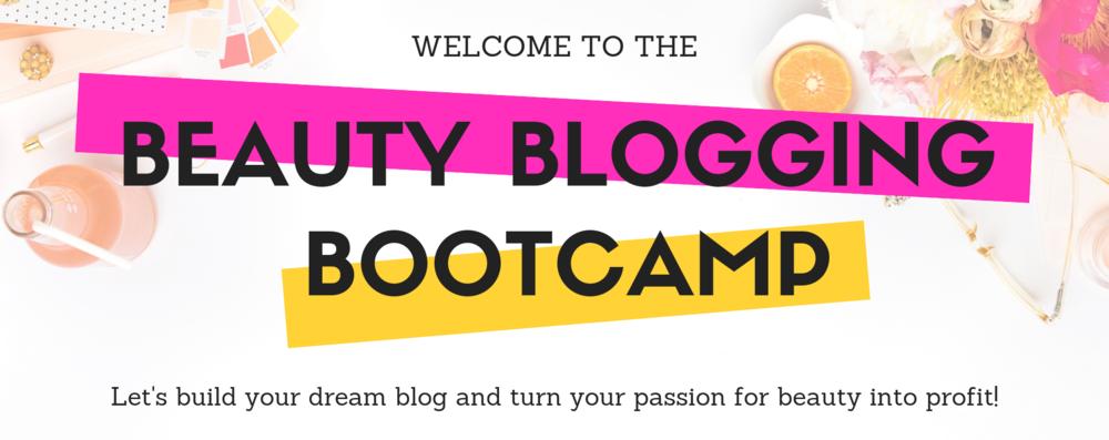 Beauty Blogging Bootcamp - Marisa Robinson Beauty