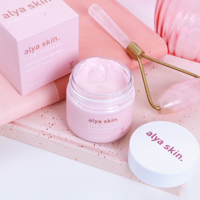 Alya Pink Clay Face Mask - Cruelty Free Gift Guide