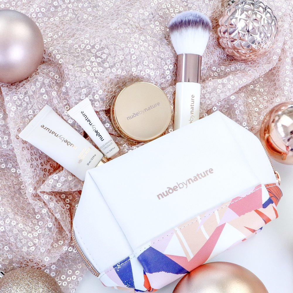 Nude By Nature 3 Piece Complexion Set - Cruelty Free Gift Guide
