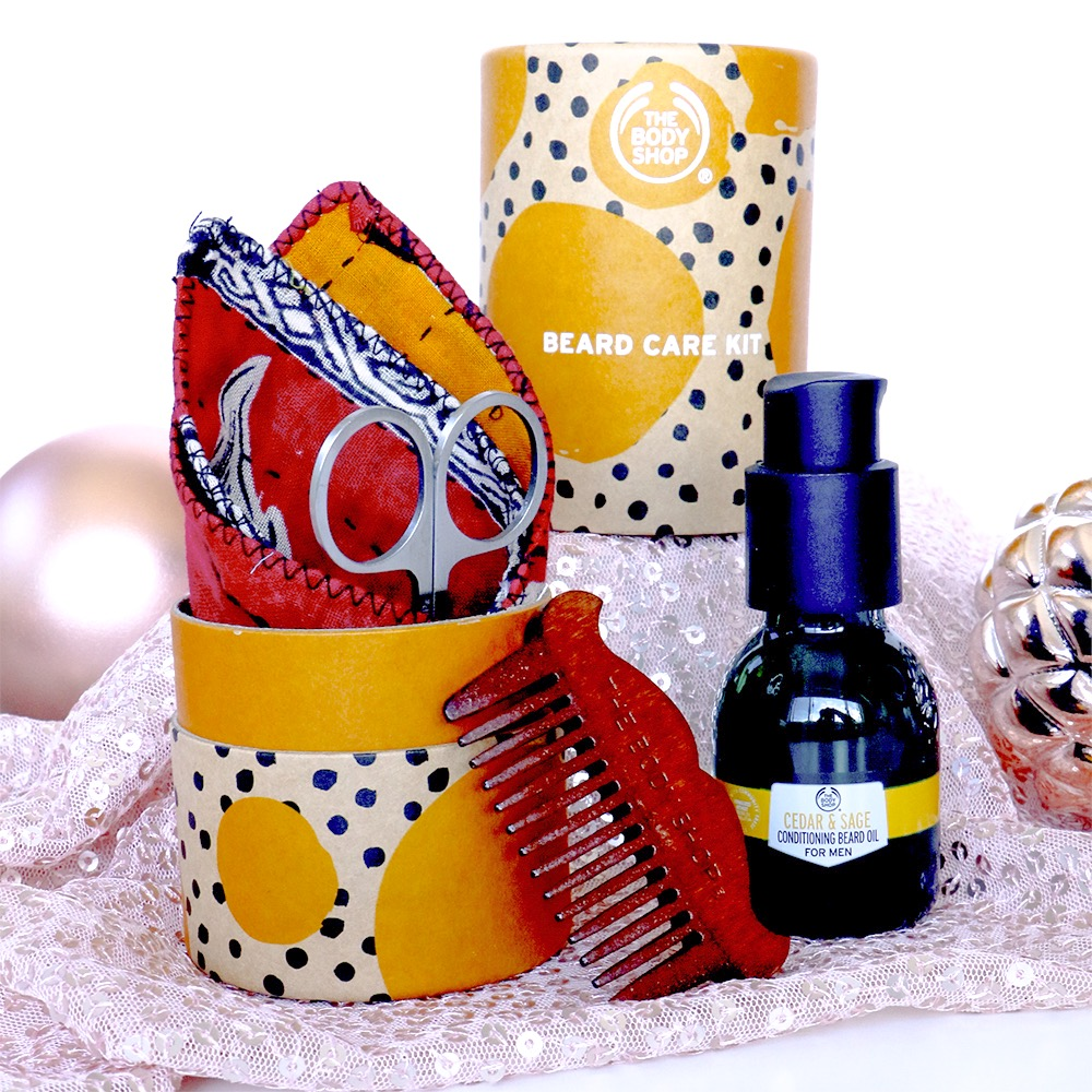 The Body Shop Beard Care Kit Christmas Gift