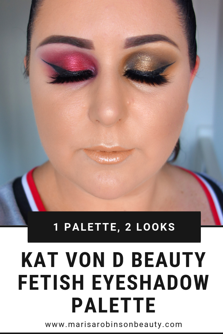 Kat Von D Beauty Fetish Eyeshadow Palette Review