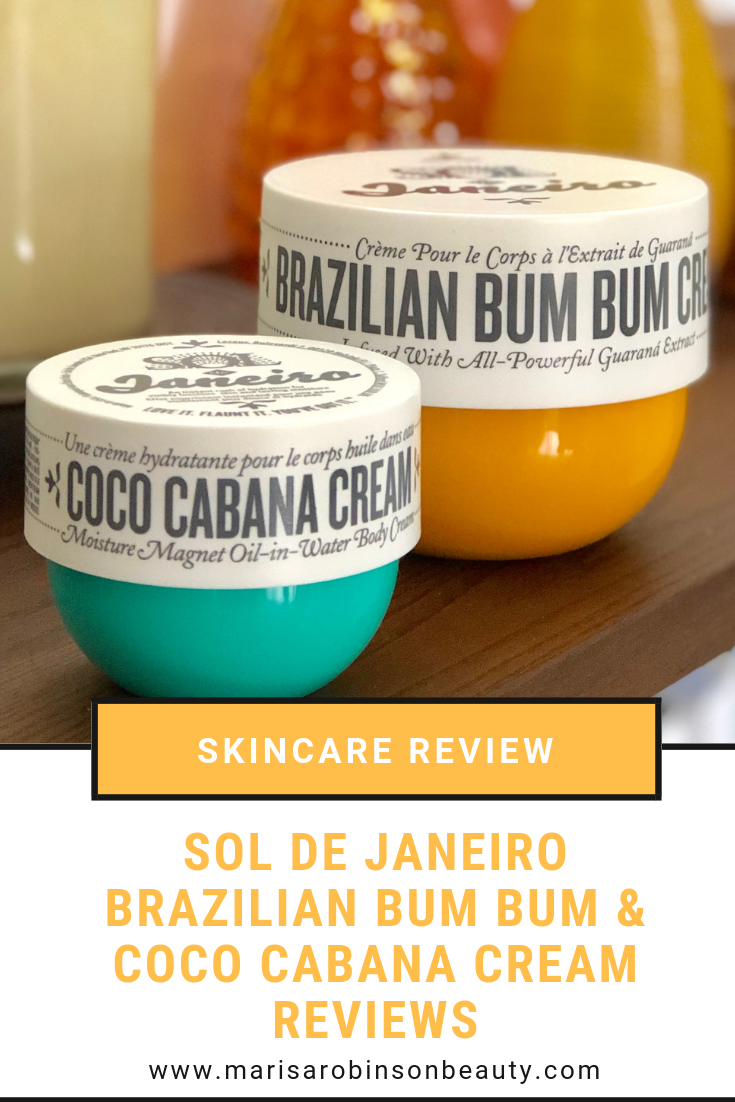 Sol De Janeiro Brazilian Bum Bum Cream and Coco Cabana Cream Review
