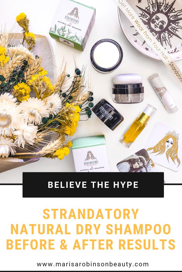Strandatory Natural Dry Shampoo Review