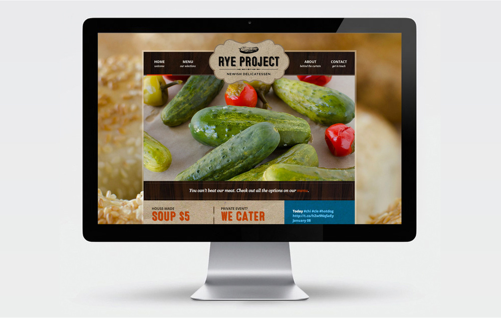 Rye Project website design
