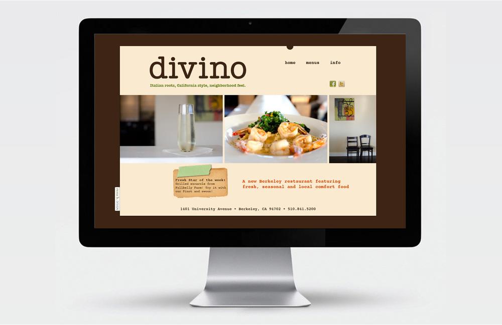 Divino restaurant site