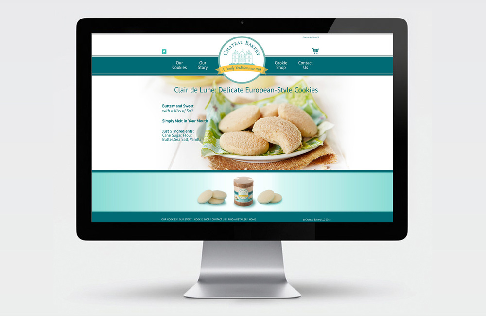 Chateau Bakery Home page