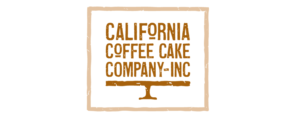 California Coffee Cake Branding