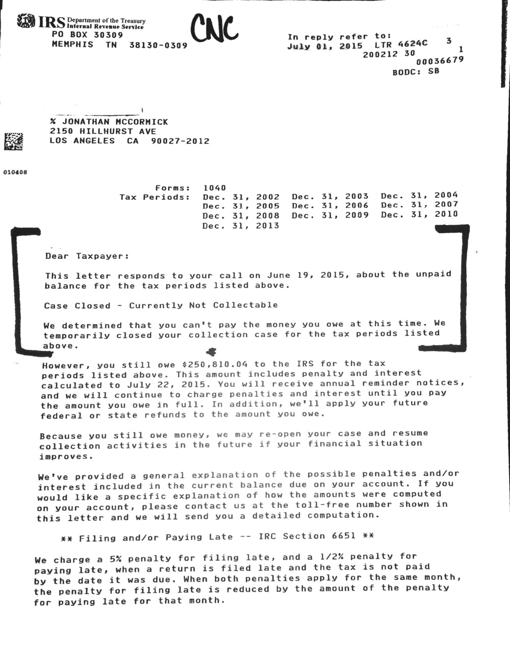 Case results hillhurst tax group cnc july15 page 2g falaconquin