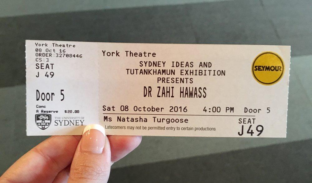 Dr Zahi Hawass Sydney