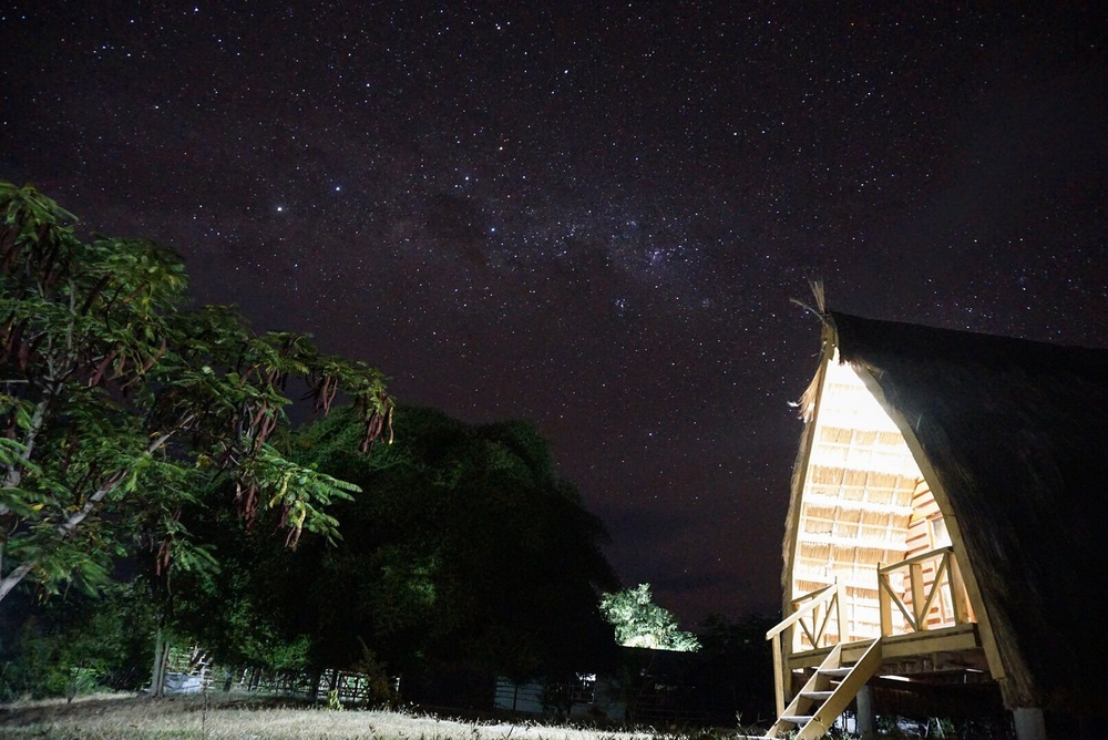 Milky Way dari Marangki Bungalow
