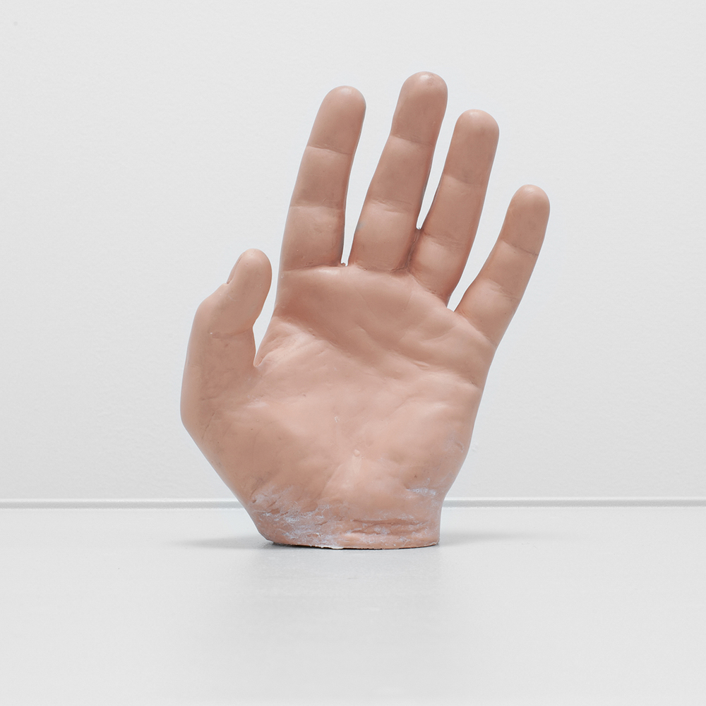 Item: HPS hand                                 Manufacturer: CAE Healthcare          Use:  Hand for simulated patient modeled on 33 year old male Photograph © Alicia Bruce All Rights Reserved