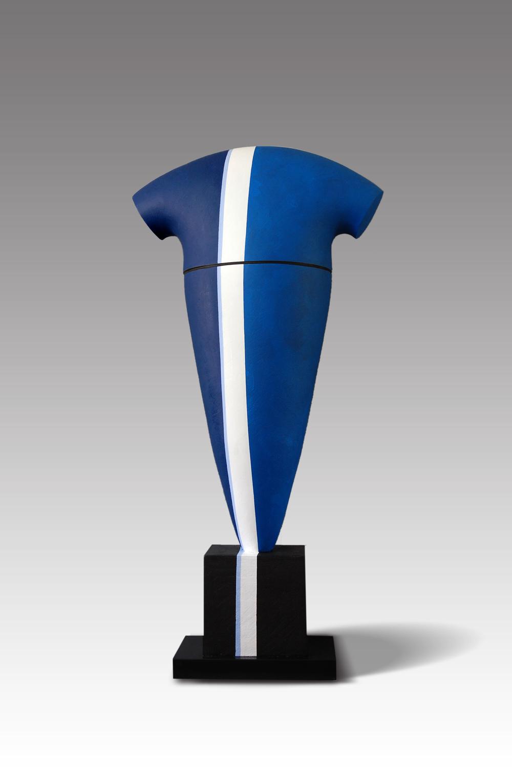 Line, by Patricia Volk, H:122, W:64, D:30cms