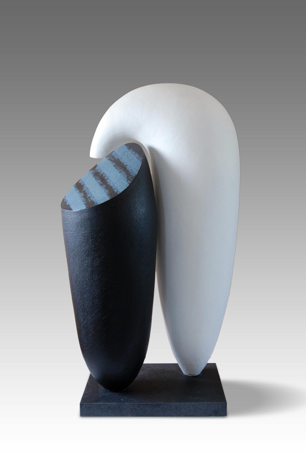 Strata, by Patricia Volk, H:72, W:45, D:29cms