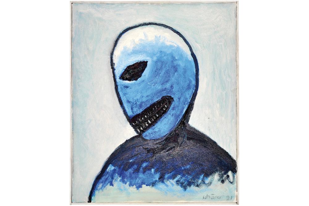 Tête bleue, 1991