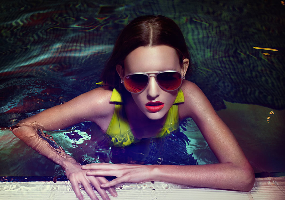 Lunettes RAY BAN Maillot ERES