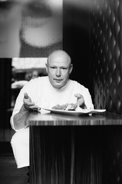 Adwin Fonteine au restaurant Crystal Lounge, Sofitel Louise. Photos: Christian Hagen