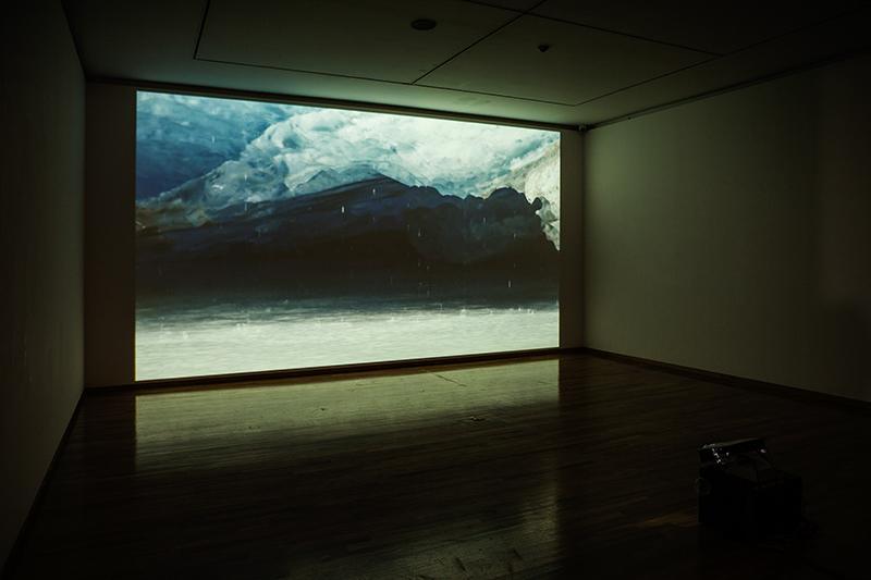 Jessica Plumb, installation view, Kumho Museum of Art, Seoul (2014)