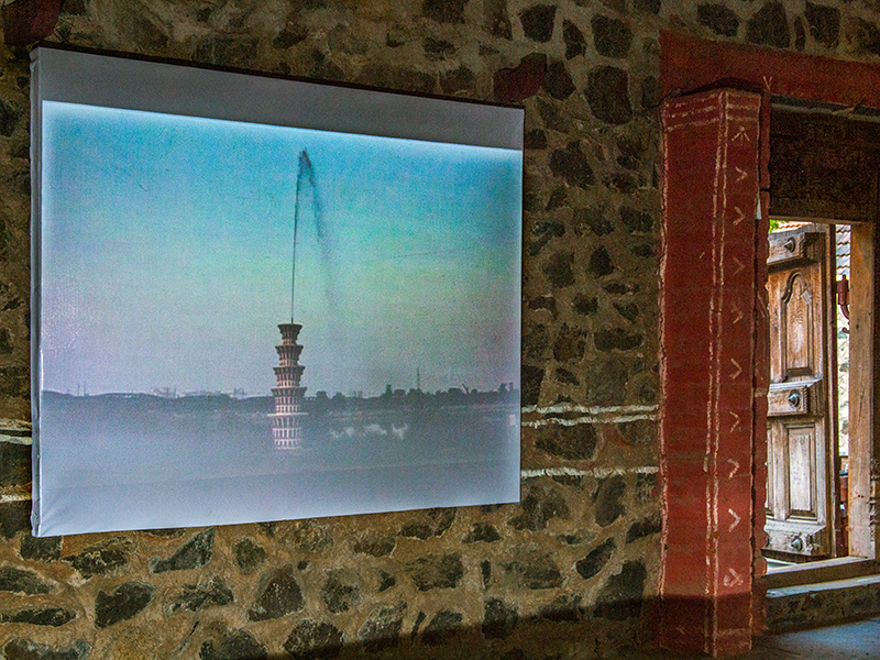 Video Projection: Gigi Scaria