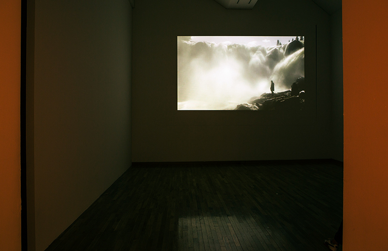 Hanna Ljungh, installation view 'Outflow' presentation, Kumho Museum Of Art, Seoul (2014)