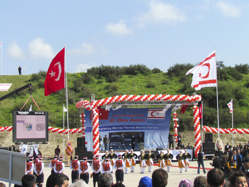 "The ""L  aying of the F  irst S  tone"" ceremony that   inaugurated the commencement of the Pipeline Project, 2012."