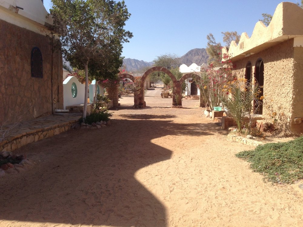 Entrance to Habiba Farm Resort area