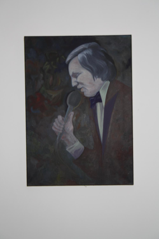 8. Tomáš Císařovský   Nasazený tón (z cyklu Promlčená doba)   2003, olej, plátno   70 x 50 cm