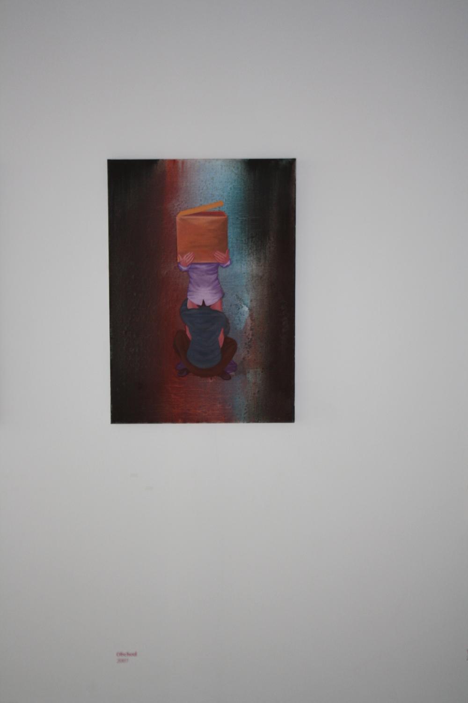10. Tomáš Císařovský   Obchod   2007, olej, plátno   85 x 60 cm