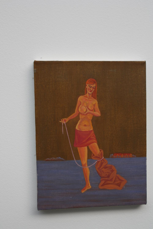 20. Tomáš Císařovský   Velké ňadro   2012, olej, plátno   33 x 25 cm