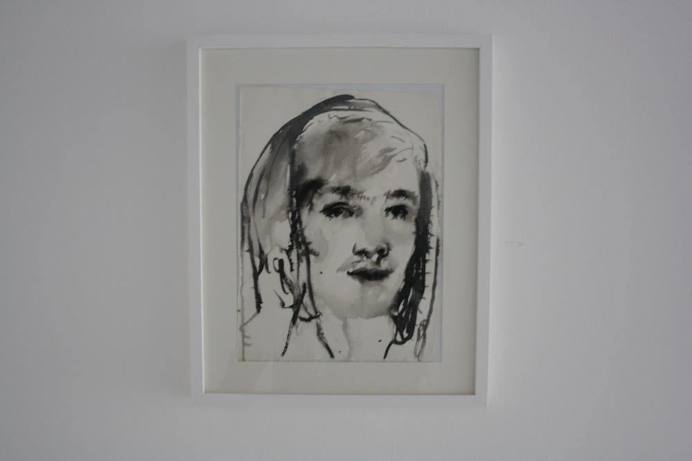 29. Katarina Janečková   bez názvu   2012 – 2013, akvarel na ručním papíře 160 x 200 cm   43 x 58 cm