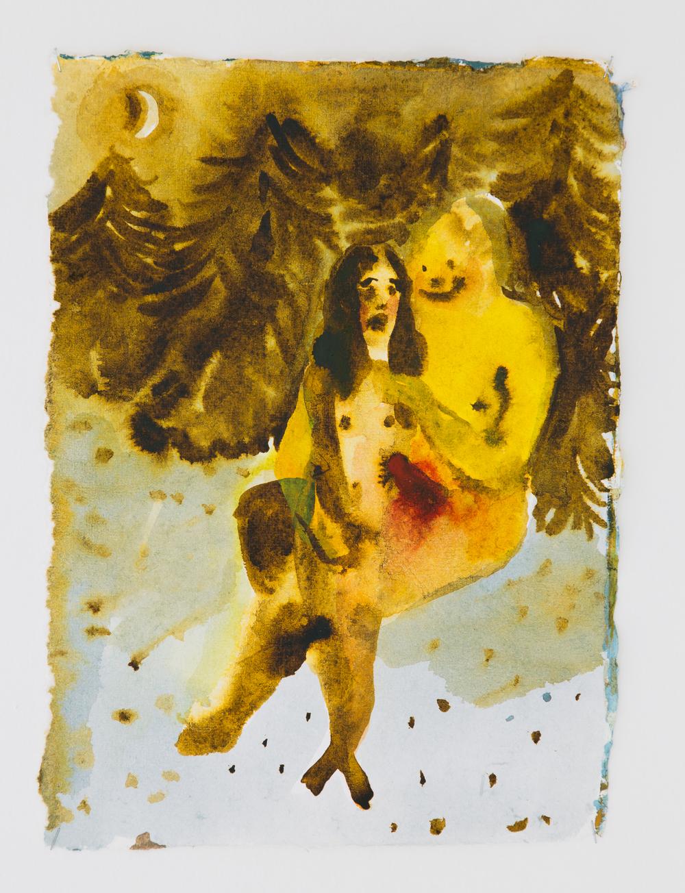 33. Katarina Janečková   Duch optimismu   2013, akvarel na ručním papíře   39x28 cm