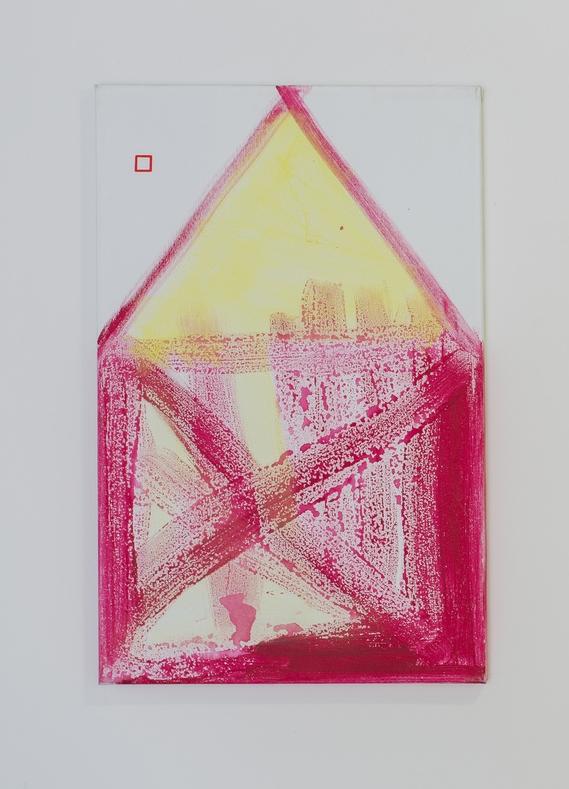 2. Václav Girsa   Dům   2010, akryl na plátně   70 x 40 cm