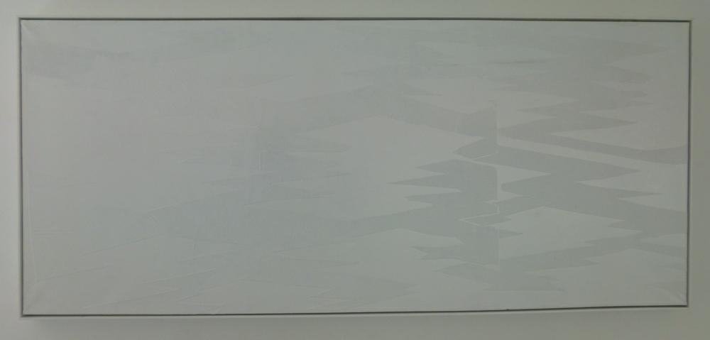 3. Kdyby bílá bývala byla bílá, 2007, kombinovaná technika, 304 x 134