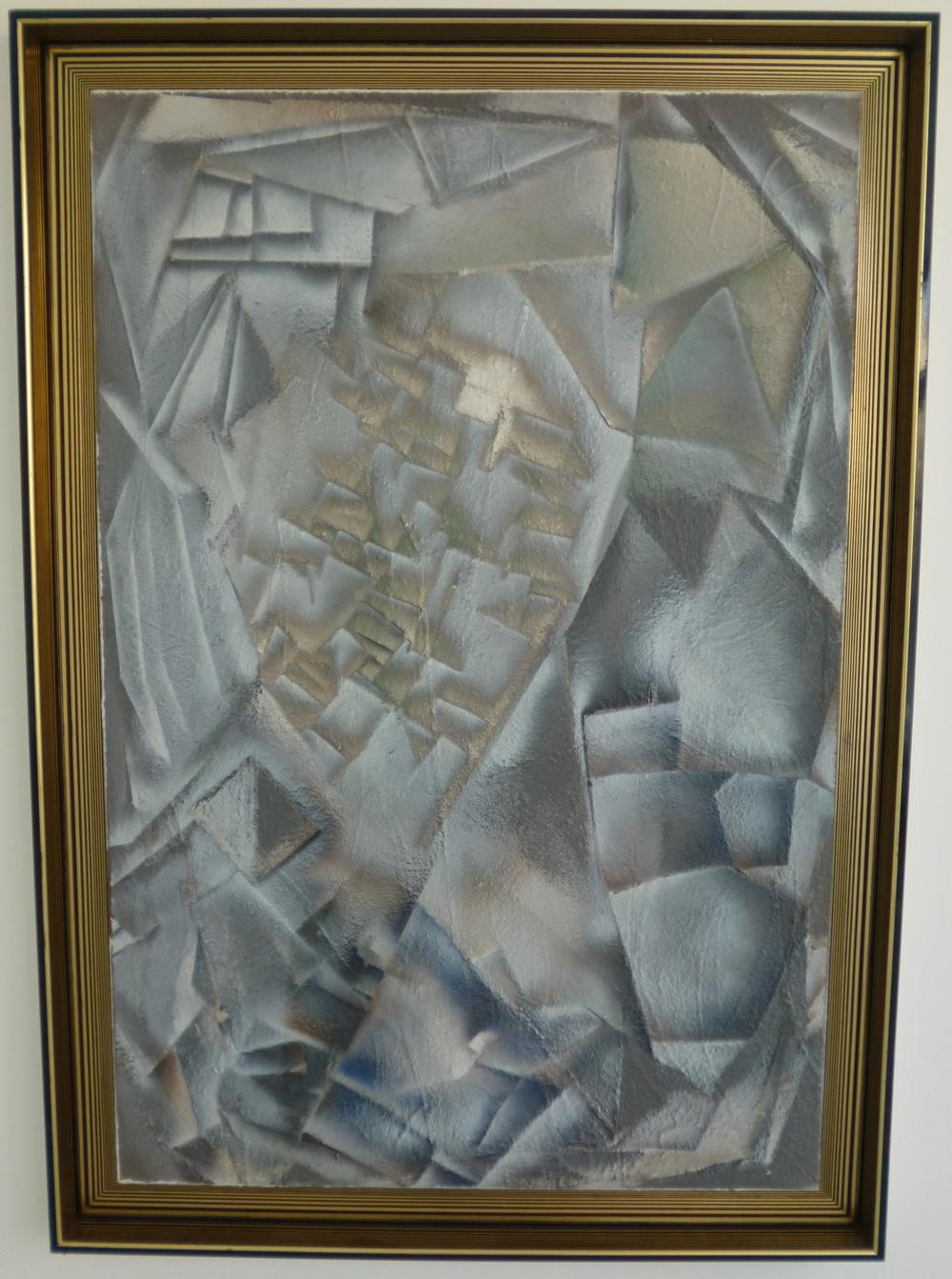 15.Portrét, 2014/15, kombinovaná technika, 117,5 x 167,5