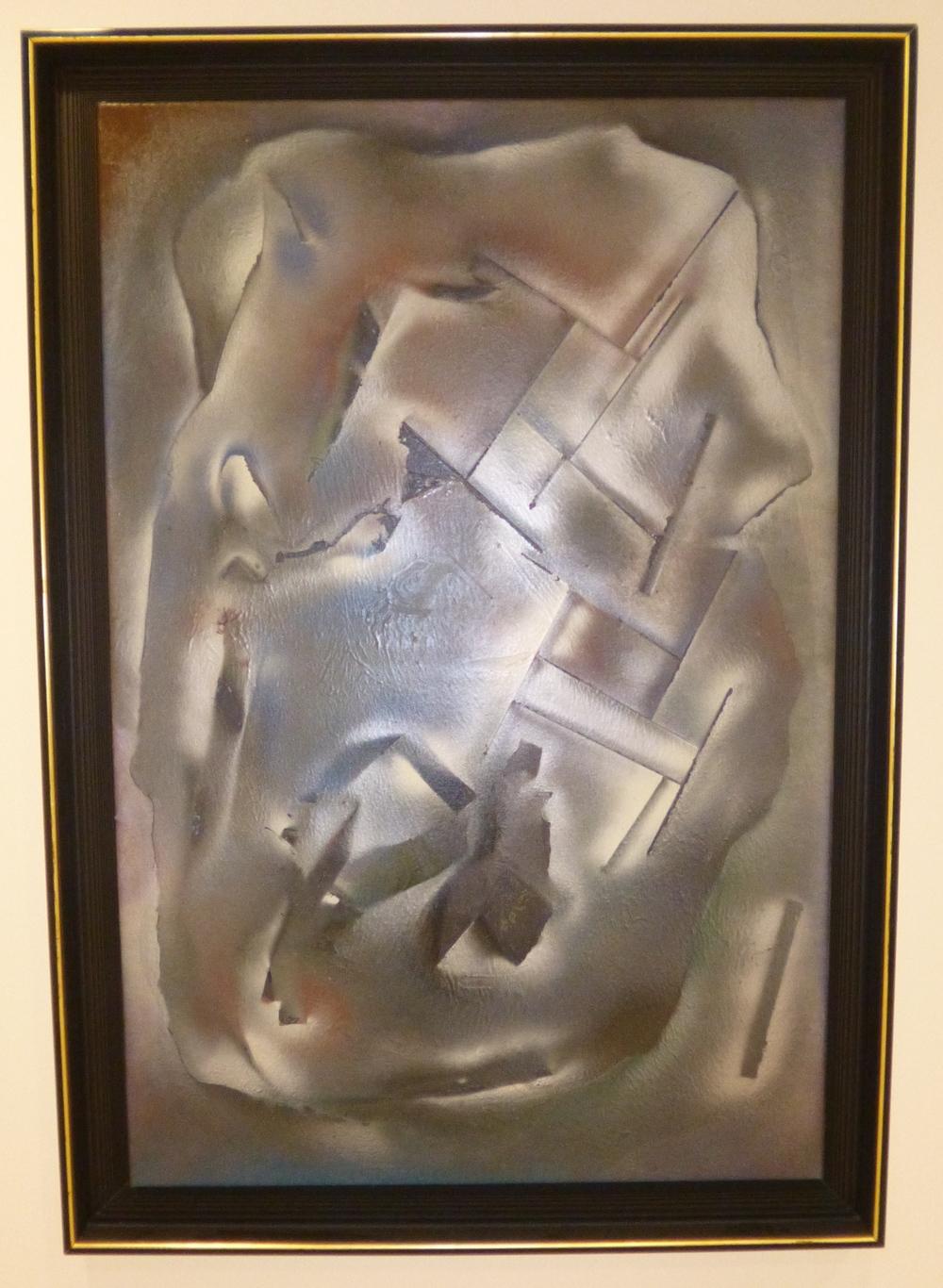 24.Picabiovský portrét, 2014, kom. technika, 117,5 x 168