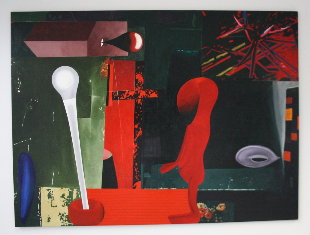Stefan Milkov, Velká vizita, 2013, 199 x 148 cm, acr. na pl.