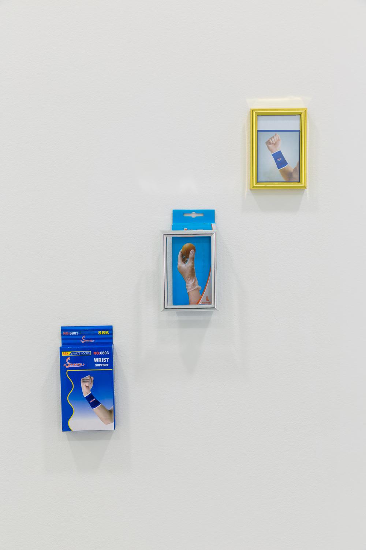 BRACIA, Consecration, 2015, kombinovaná technika, 9 x 18 cm, 10 x 17 cm, 10 x 14 cm