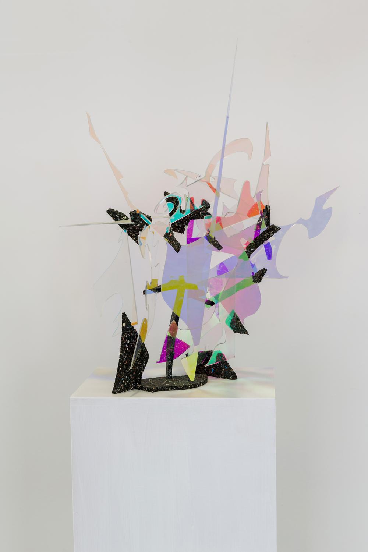 Matyáš Chochola, Ticho brázdí oceán slasti, 2015, kombinovaná technika, 65 x 50 x 50 cm