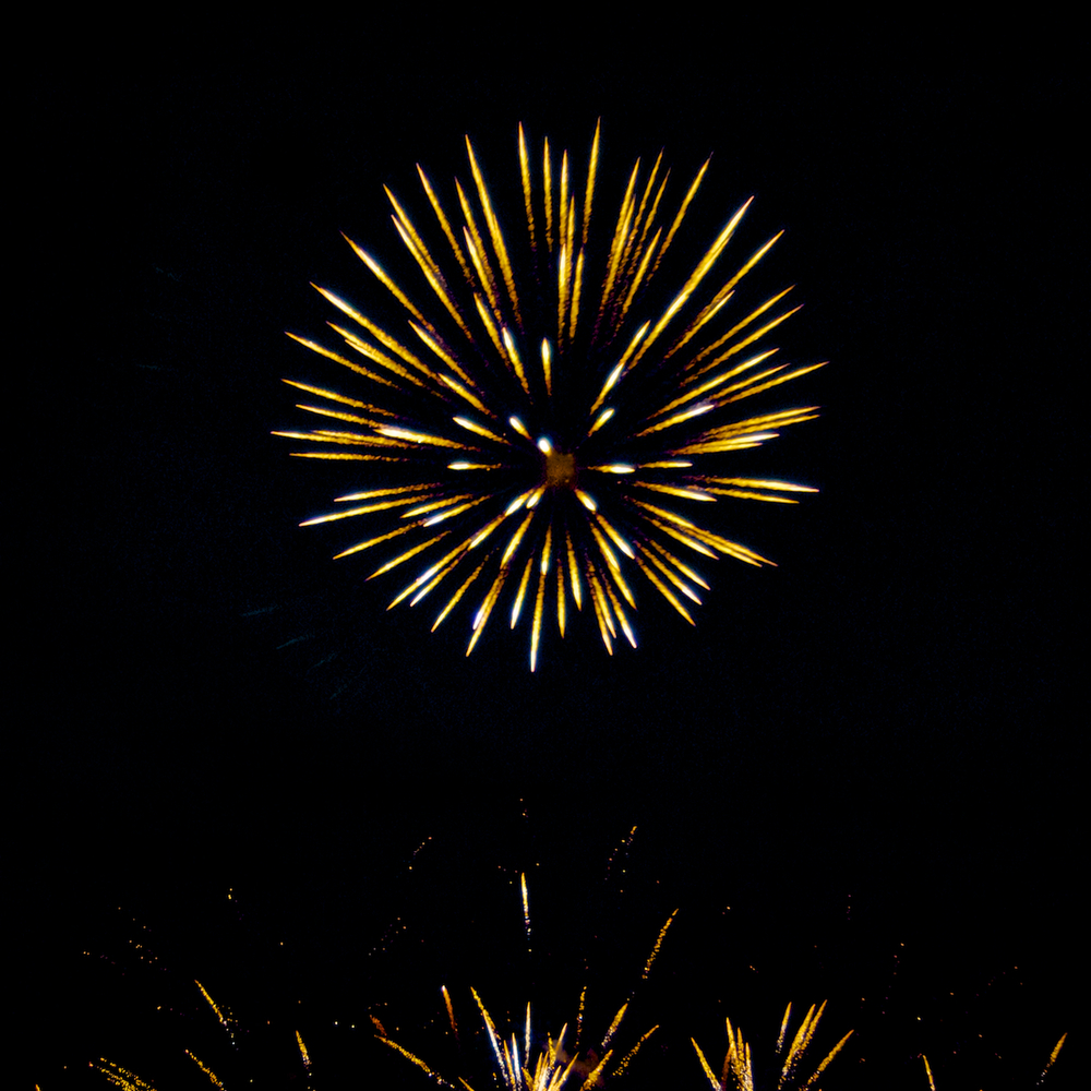 Fireworks at Keswick Park in Chamblee, Georgia, taken on the 4th of July 2015. Copyright © 2015. All rights reserved. To see more pictures, please visit my photography website at  www.dominiquejames.com . Thanks!
