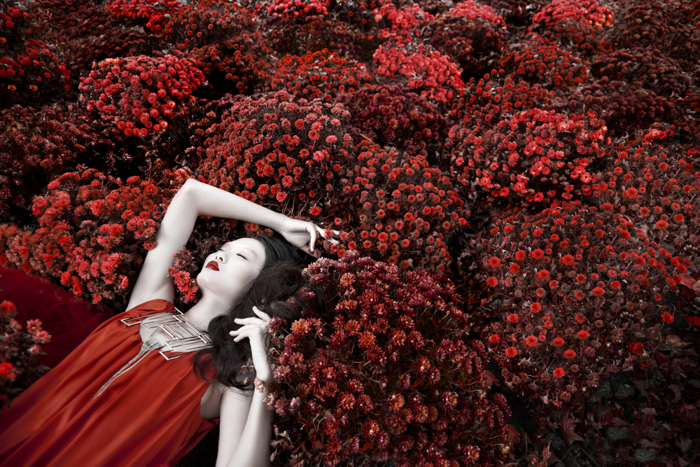 """"""" Kiss of the Red Dragon"""" Fashion Editorial by Lindsay Adler Photography, NYC Fashion Photographer"""