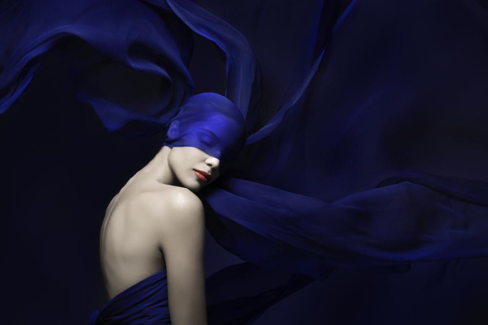 Royal Blue Fashion Photography Editorial by Lindsay Adler