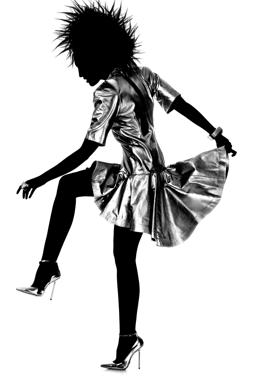 Metallic Fashion Editorial by Lindsay Adler Photography, NYC Fashion Photographer