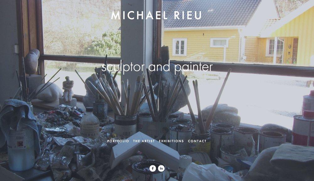 FireShot Capture 006 - MICHAEL RIEU - sculptor and painter - https___www.michaelrieu.com_.jpg