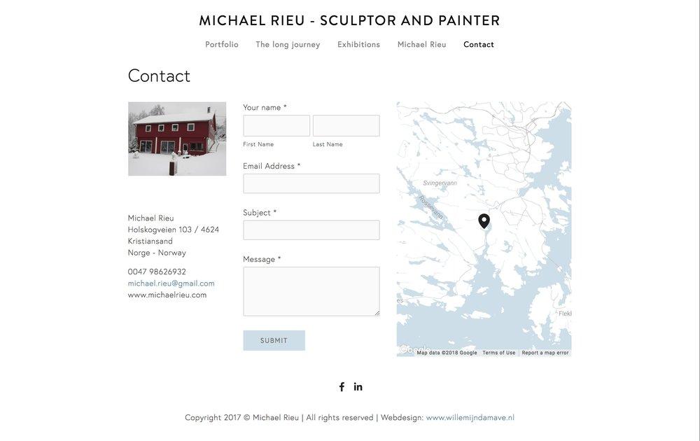 FireShot Capture 009 - Contact — MICHAEL RIEU - sculptor and_ - https___www.michaelrieu.com_contact_.jpg